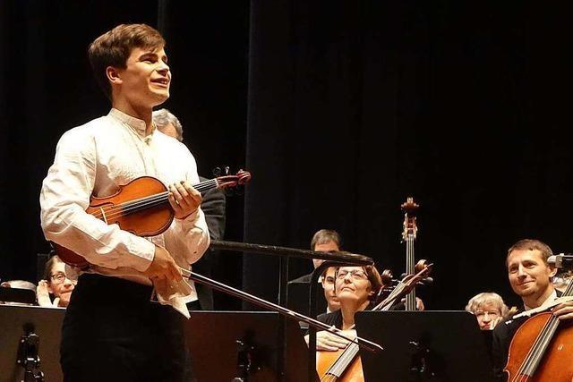 Gregor Hänßler ist ein Ausnahmetalent an der Geige