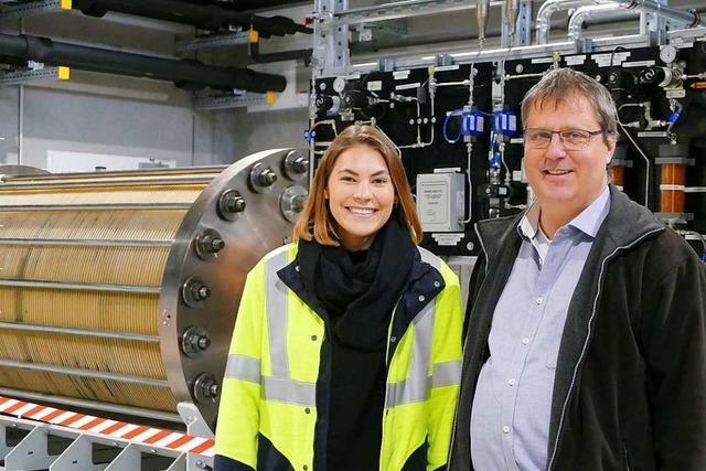 Die Power-to-Gas-Anlage in Wyhlen wurde in Betrieb gesetzt