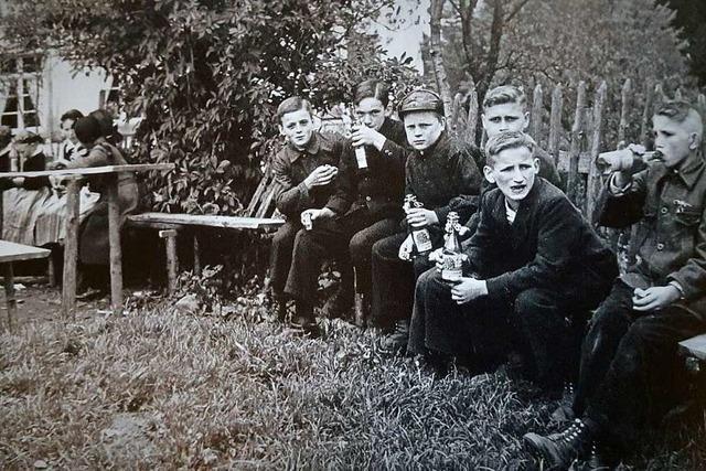 Das Leben der Kinder auf dem Dorf war früher geprägt von Arbeit