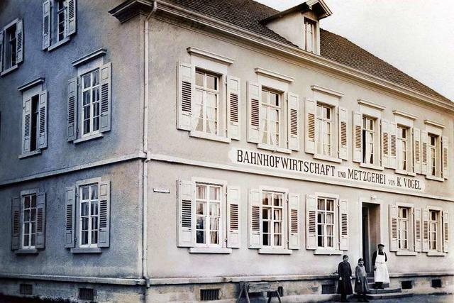 Die Bahnhofswirtschaft in Kollmarsreute blickt auf eine 120-jährige Geschichte zurück