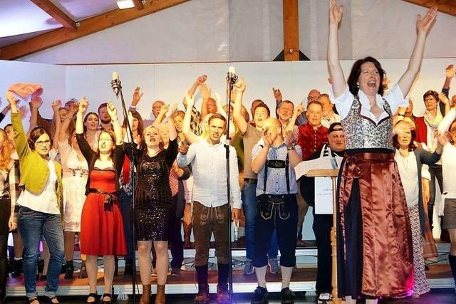 Fotos vom Jahreskonzert des Gesangvereins Liederkranz Holzen