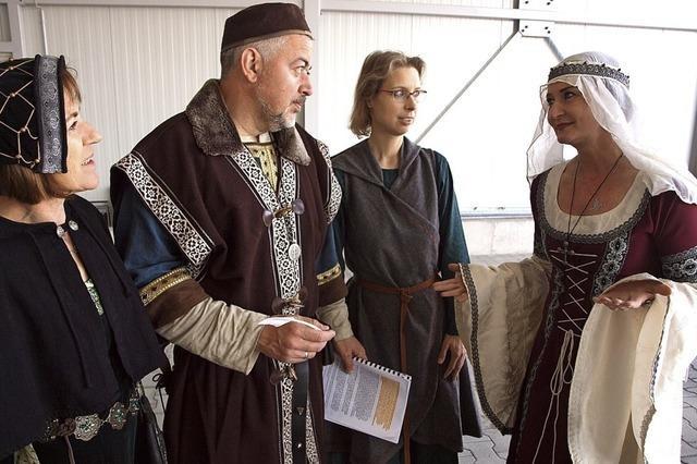 Derbe Ritter und eine umworbene Grafentochter