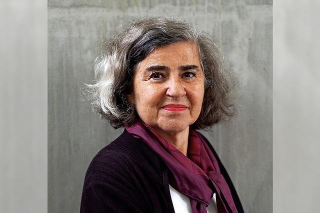 Barbara Hongimann im Literaturhaus