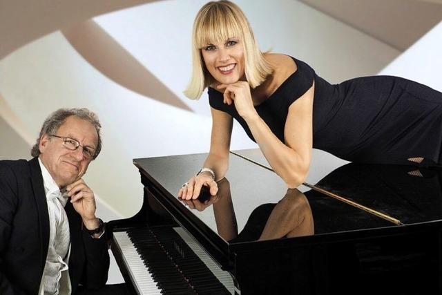 Christine Schmid und Florian Metz im Litschgi-Keller