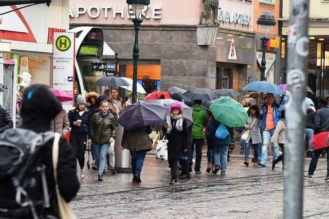 Beim Mega-Samstag in Freiburg herrschte frostige Stimmung
