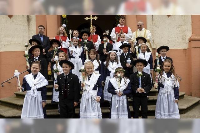 Erstkommunion in Münstertal