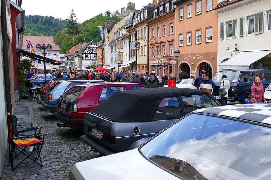 Impressionen vom Waldkircher Sonntag (Foto: Sylvia Sredniawa)