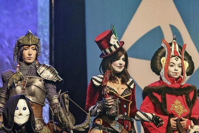 Comics, Filme, Computerspiele: Cosplay-Fans belagern Basel