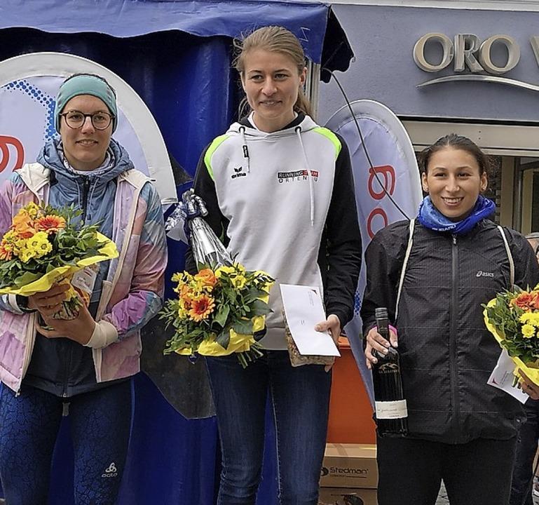Siegen oder dabei sein: Bei den Frauen... Platz) und Jannis Günther (3. Platz).  | Foto: Ralf Burgmaier