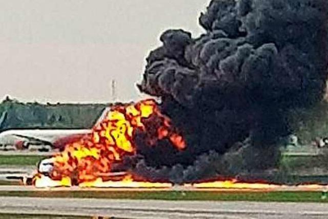 Flugzeugunglück in Moskau fordert mehr als 40 Menschenleben