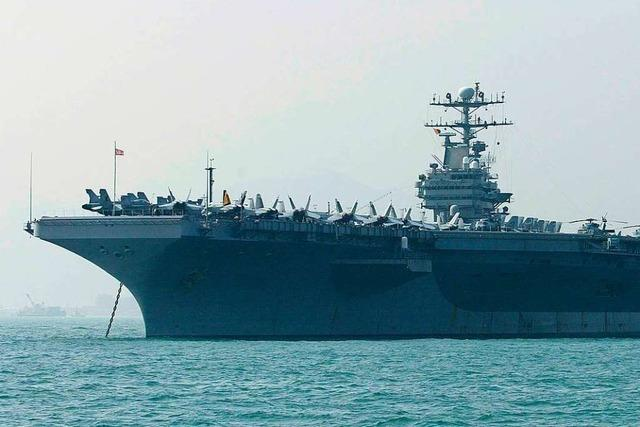 USA verlegen Flugzeugträger in Richtung Iran