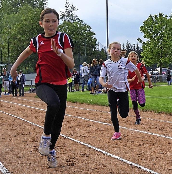 <BZ-FotoAnlauf>Leichtathletik:</BZ-Fot... Schüler waren in Ettenheim am Start.   | Foto:  Carl Anton Weber