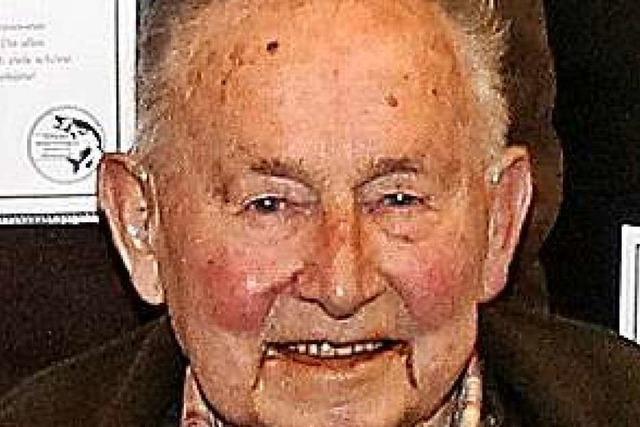 Der langjähriger Revierförster Fritz Heimburger ist gestorben