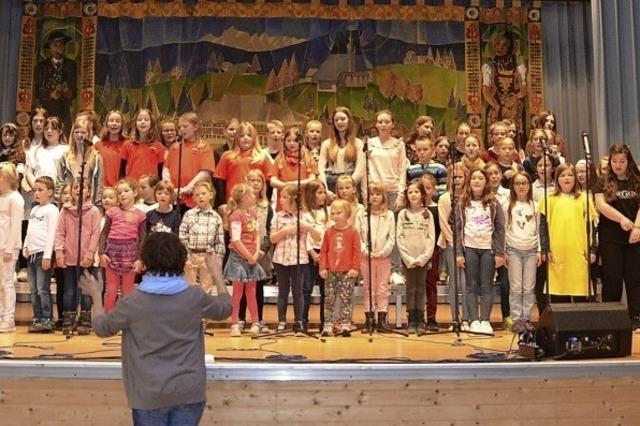 Große Bühne für junge Sänger