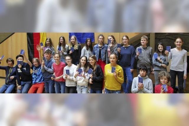 OGW-Schüler diskutieren Kinderrechte