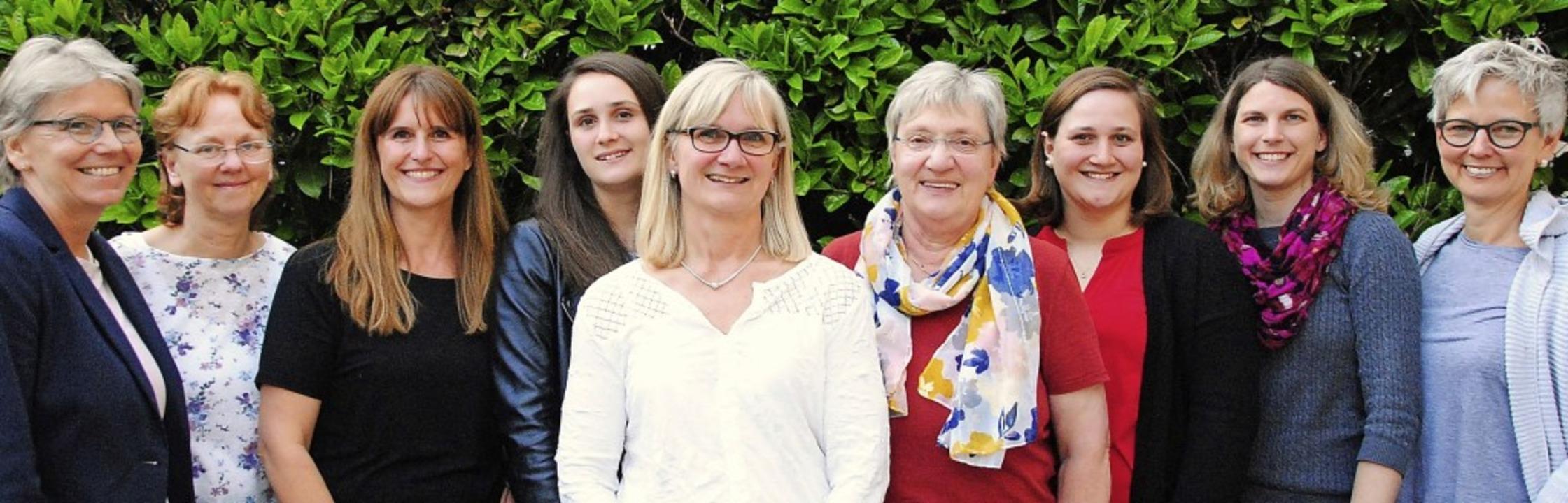 Das bewährte Vorstandsteam des Turnerb...) und Nicole Wyss (2. Schriftführerin)  | Foto: Sedlak
