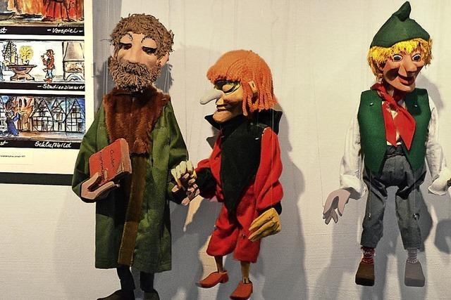 Marionetten voller Lebendigkeit