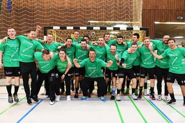 Handballer des TV Herbolzheim Meister der Landesliga