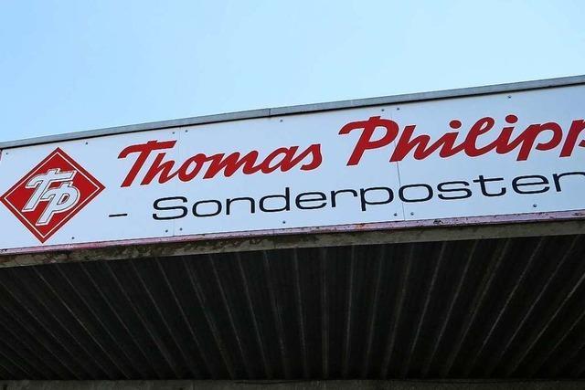 Der Weg ist frei für Thomas Philipps im Fachmarktzentrum