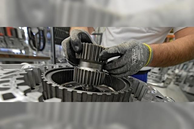 Maschinenbauer starten schwach
