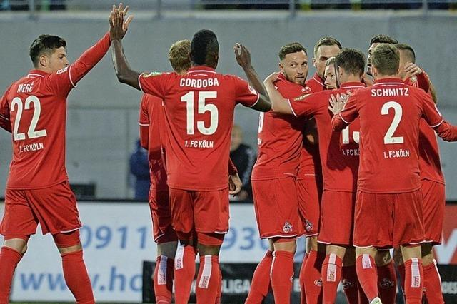 Der 1. FC Köln schafft den direkten Wiederaufstieg