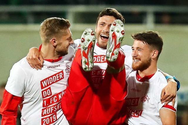 1. FC Köln feiert Bundesliga-Rückkehr: