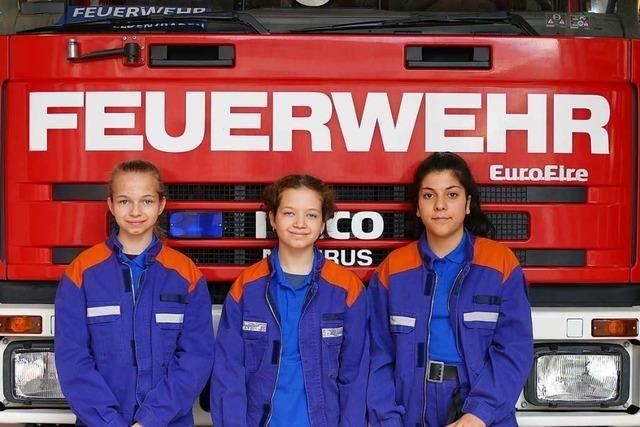 Wie schlagen sich Frauen in der Rheinfelder Feuerwehr?