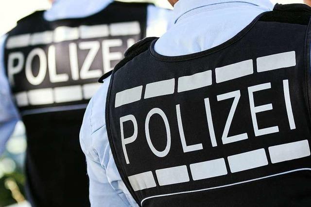 Verkehrsschild in Schopfheim abgesägt