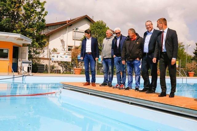 Das Ettenheimer Freibad öffnet eine Woche später
