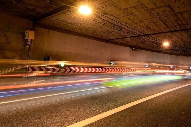 Freiburger B31-Tunnel wird für zwei Nächte gesperrt – Behinderungen auch am Dreisamuferradweg