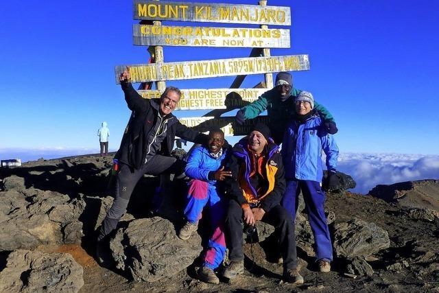 Ein Vortrag von zwei Massai-Bergführern