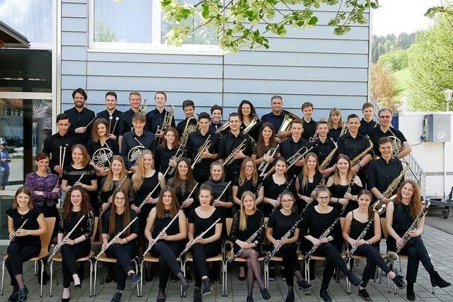 Jugendblasorchester Breisgau in Vörstetten
