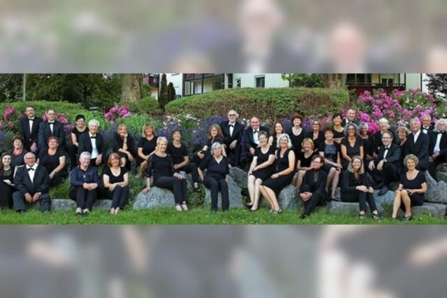 Der Kammerchor Bad Säckingen gibt in der altkatholischen Kirche ein Sommerkonzert.