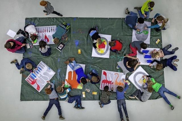 Schüler zeigen ihre Werke