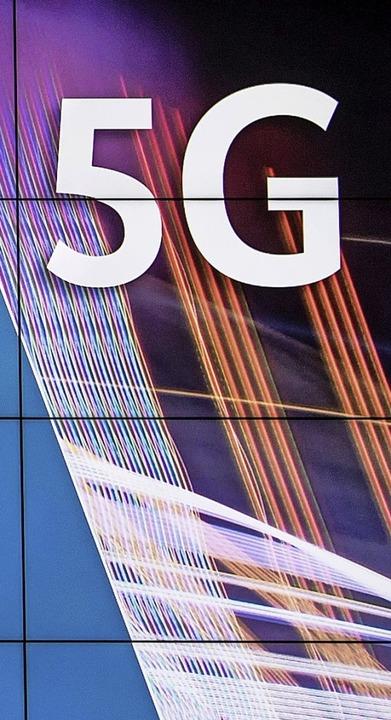 Der Mobilfunkstandard 5G ist eines der...n künftig hauptsächlich kümmern will.   | Foto: dpa/Irmgard Kaiser