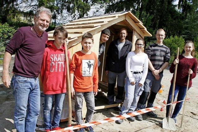 Spielhaus für die Gutenbergschule