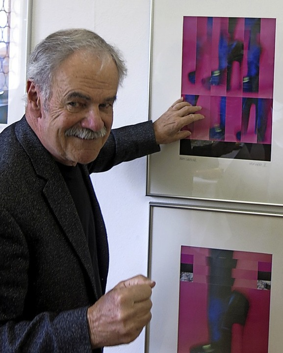 """Ausstellung """"Fetisch-Spiel"""" mit Fotoarbeiten von Ralph Görtler    Foto: Georg Voß"""