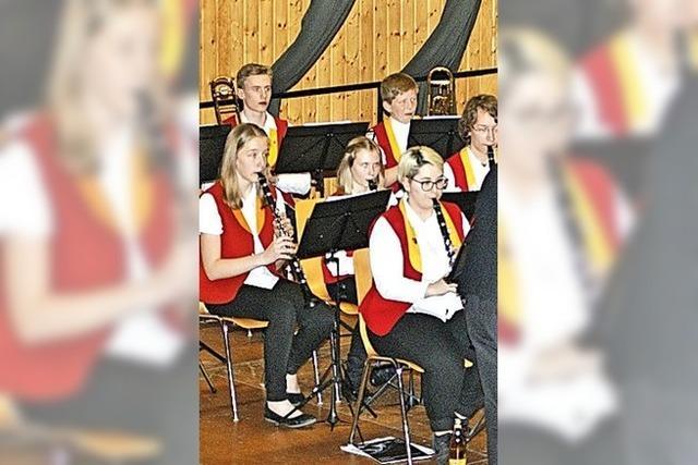Die Jugendkapelle feiert ihren 50. Geburtstag
