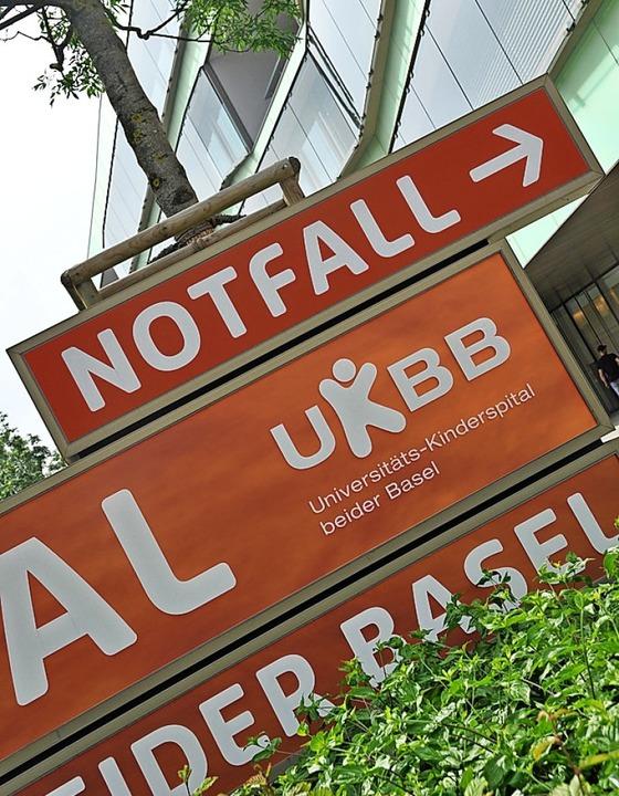 Der Eingang zum UKBB   | Foto: gra