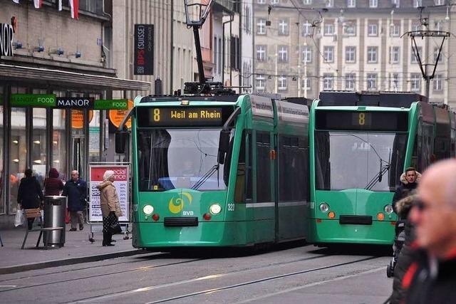 Wie soll die neue Linienführung der Basler Straßenbahnen aussehen?