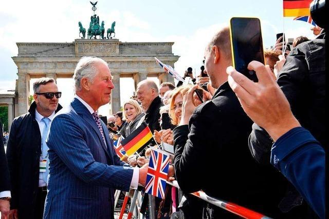 Besuch von Charles und Camilla elektrisiert Berlin