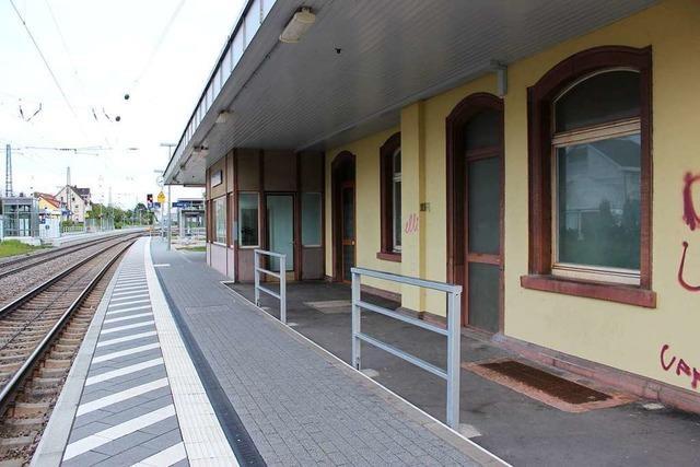 Kann im alten Bahnhof in Efringen-Kirchen eine Bar einziehen?