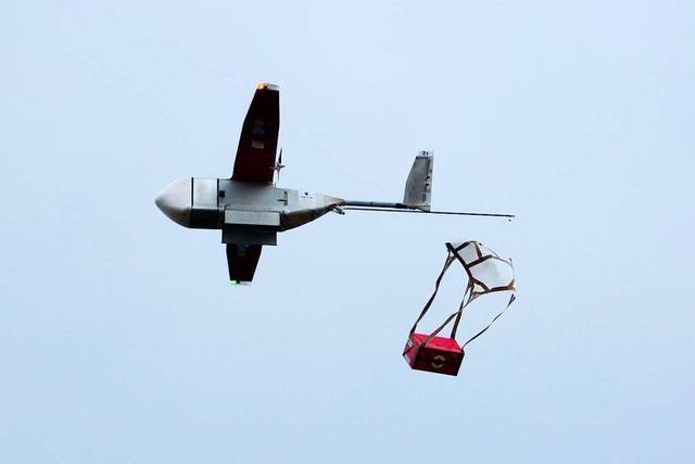 Lebensrettende Medizin wird mit Drohnen transportiert