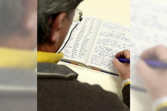 Die Lese- und Schreibschwäche geht zurück