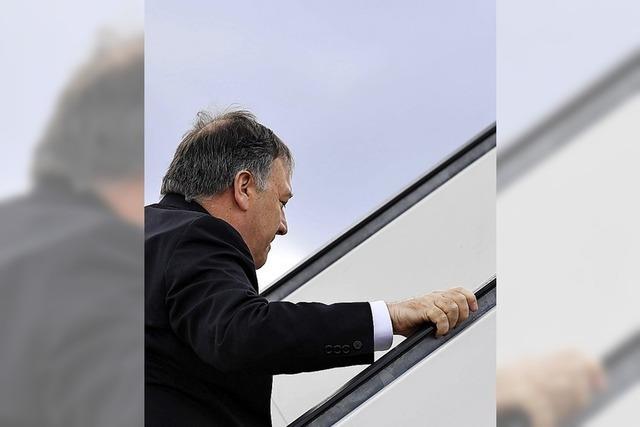 Pompeo sagt Besuch in Deutschland ab