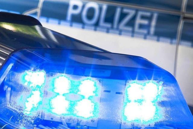 Polizei hilft betrunkenem Fußgänger