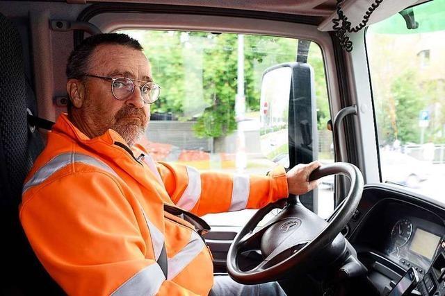 Lkw-Fahrer beklagt Ellenbogenmentalität in der Fahrradmetropole