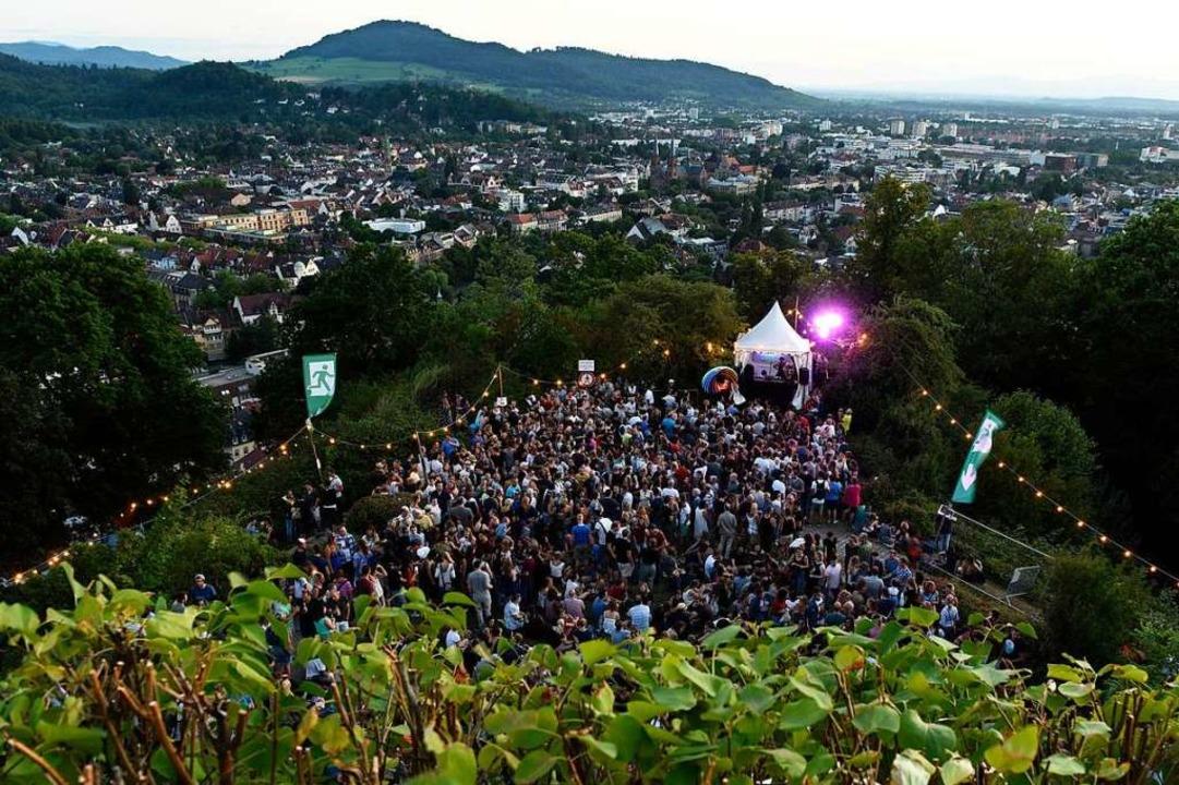 Das Schlossbergfest 2018 war ein Riesenerfolg.    Foto: Rita Eggstein