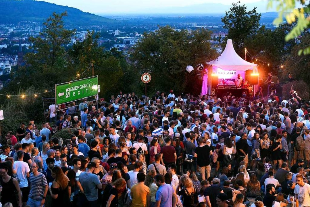 Das Schlossbergfest 2018    Foto: Thomas Kunz