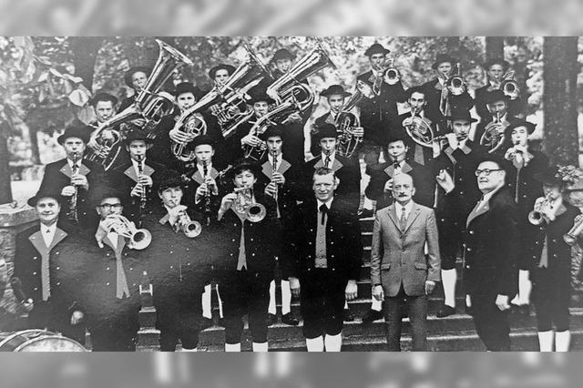 Historische Bilderschau zum Jubiläum der Stadtmusik